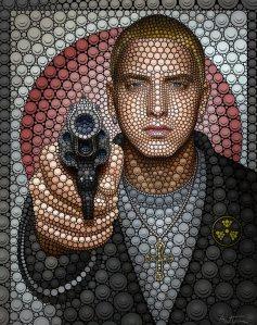 Ben Heine - Art - portrait - Eminem