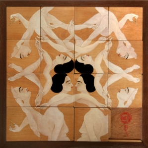 HAYV KAHRAMAN, Mass Assembly (Sliding Puzzle), 2010