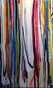 150X110 cm renklerin sentezi serisinden